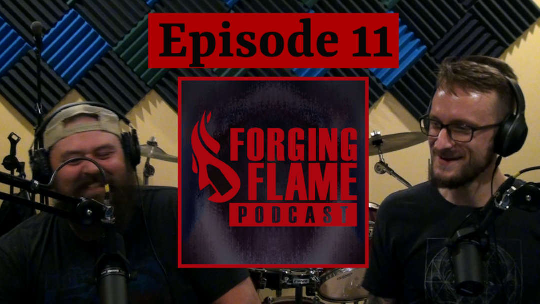 Image for Forging Flame Episode 11, all about perfectionism and creative paralysis